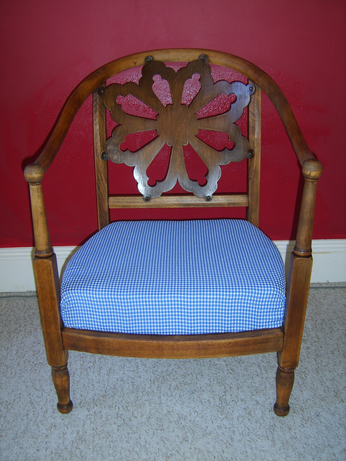 Hold Fast Co Vintage Bedroom Nursing Chair