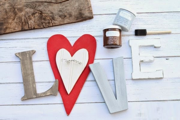 DIY, Letrero Love para San Valentin