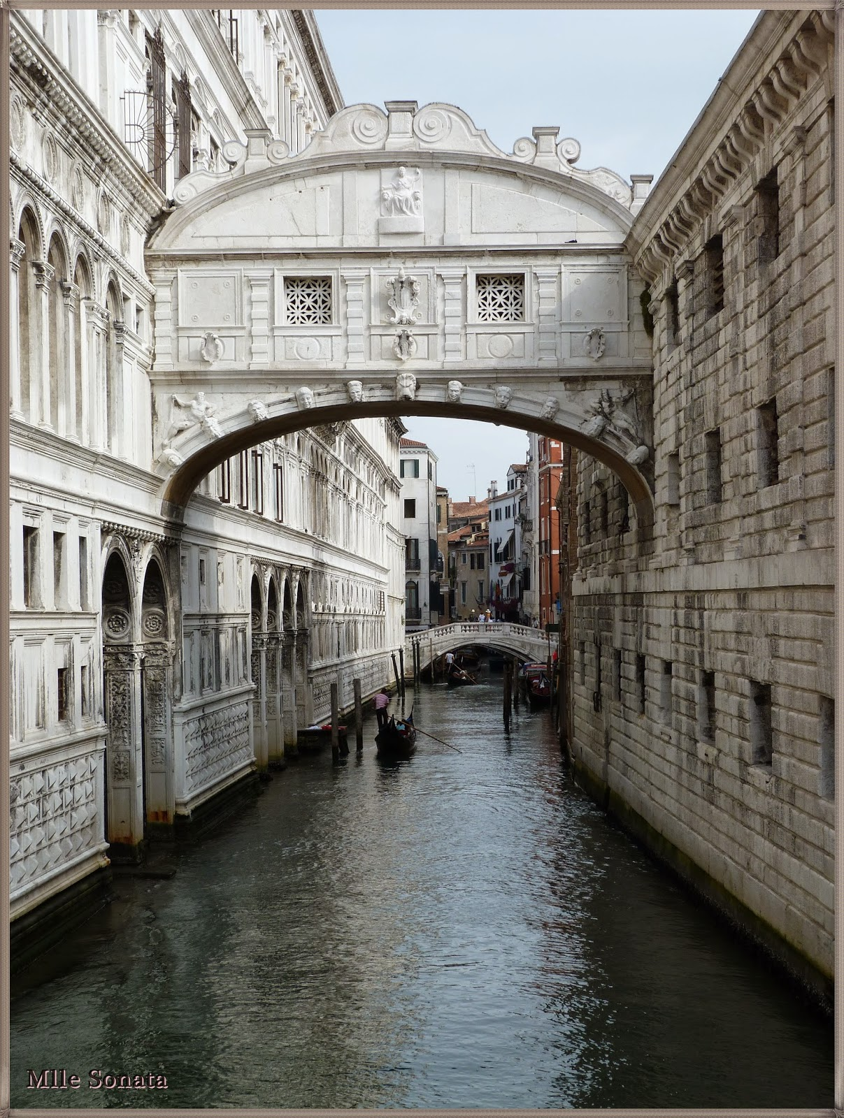 Voyage Italie Venise Pont des Soupirs