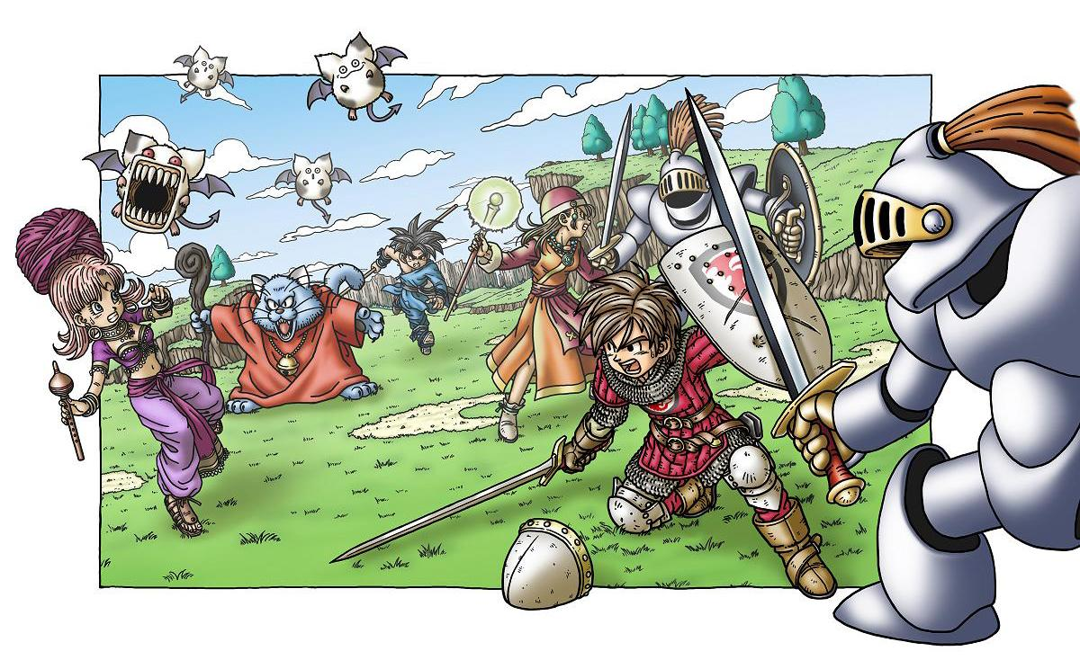 fluffybunnypwn game reviews dragon quest 9