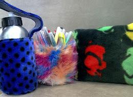 blana artificiala + un strop de imaginatie = produse handmade!