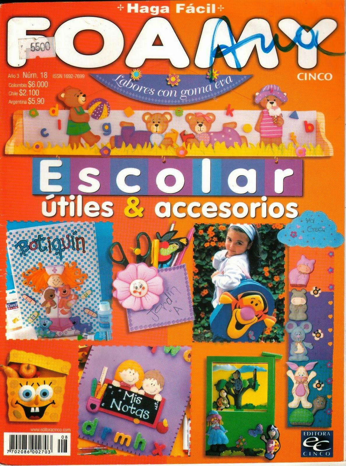 Revistas de manualidades Gratis: Revista diManualidades escolares