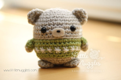 Amigurumi Free Patterns Bear : 2000 free amigurumi patterns: little muggles baby bear