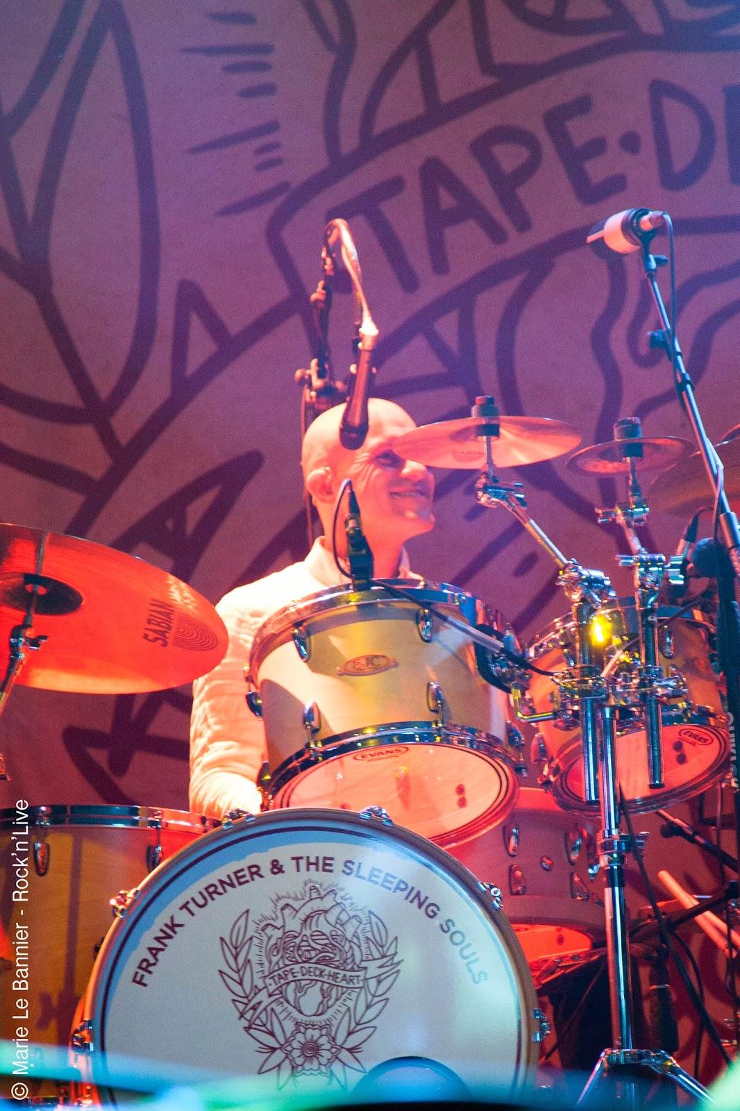 Frank Turner The Sleeping Souls Recovery Rock'n'Live 2014 Rock Marie Le Bannier Fête de la Musique Dudelange Tape Deck Heart Concert Live Festival