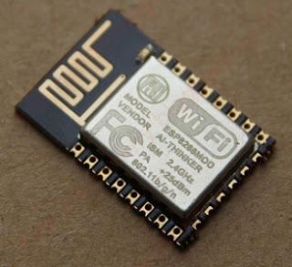 ESP8266 - Moduł z anteną na PCB