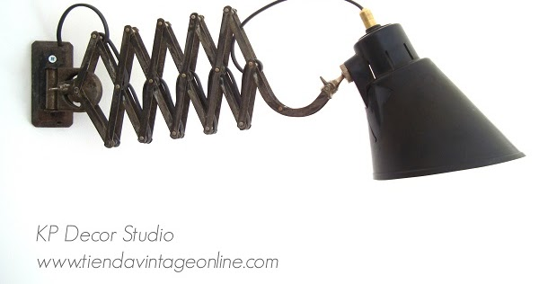 Kp tienda vintage online flexo extensible de la marca - Flexos de pared ...