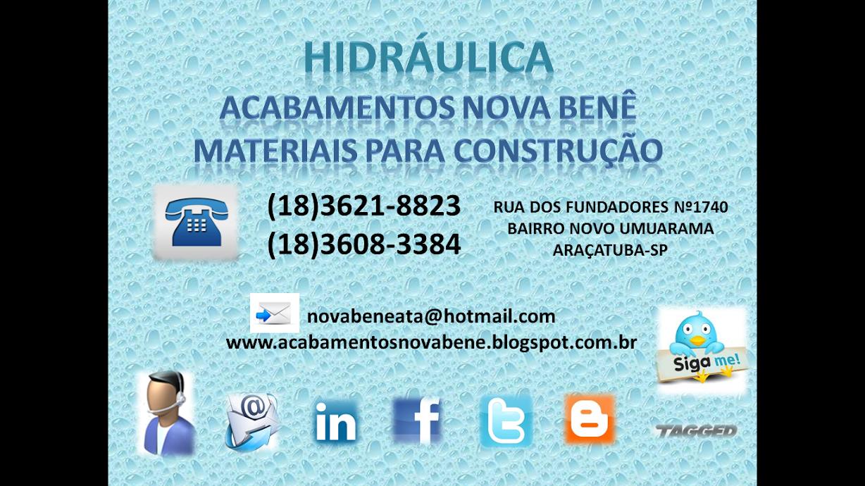 HIDRÁULICA ACABAMENTOS NOVA BENÊ