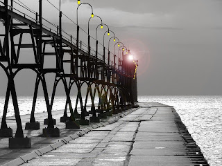 Public Domain License -- South Haven Lighthouse Pier Lake Michigan http://pixabay.com/en/profile/PublicDomainPictures/photos/