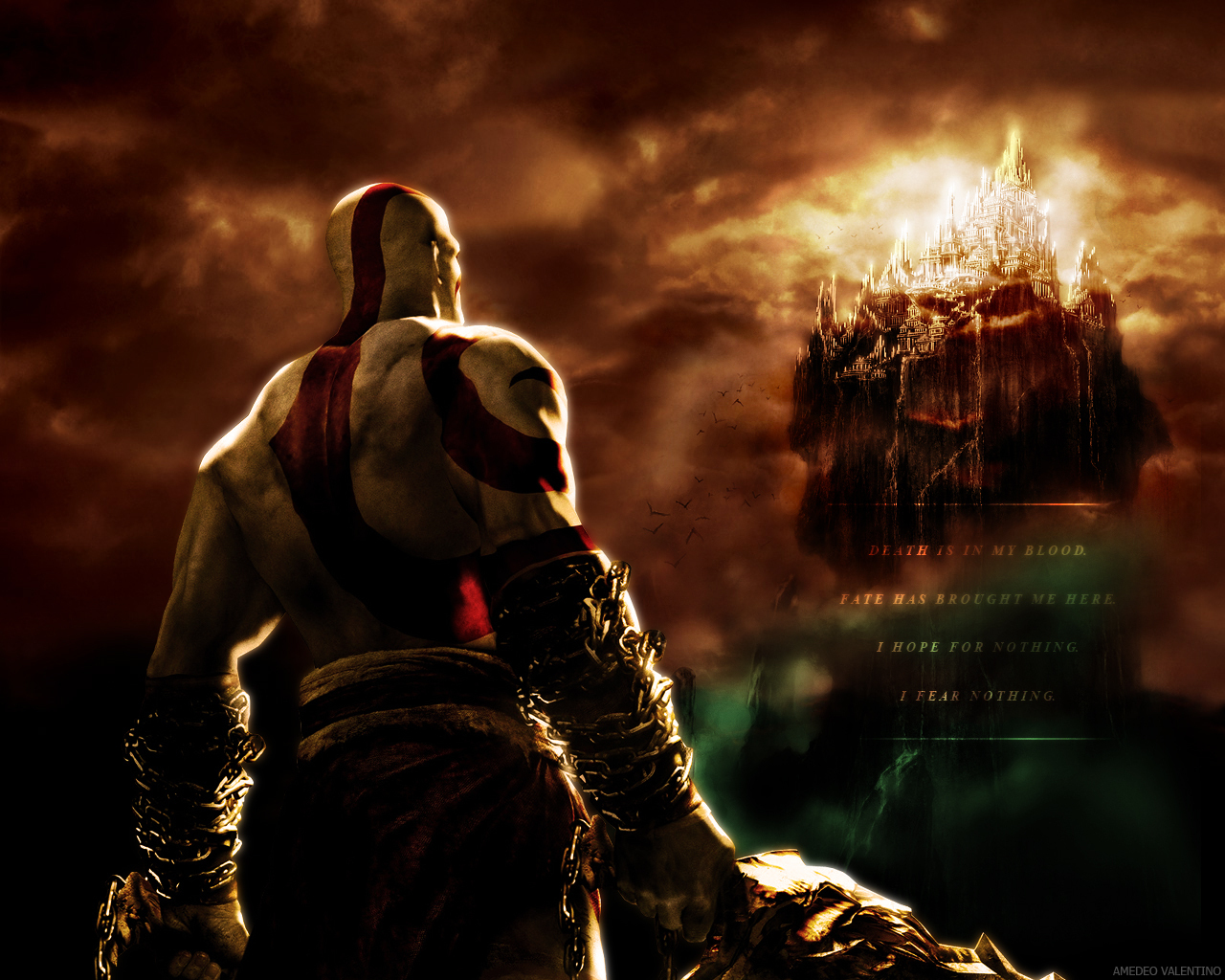 Image gallery kratos olimpo for God of war 3 jardines del olimpo