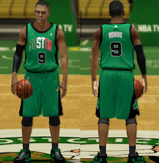 NBA 2K13 Boston Celtics Italy Alternate Jersey Mod