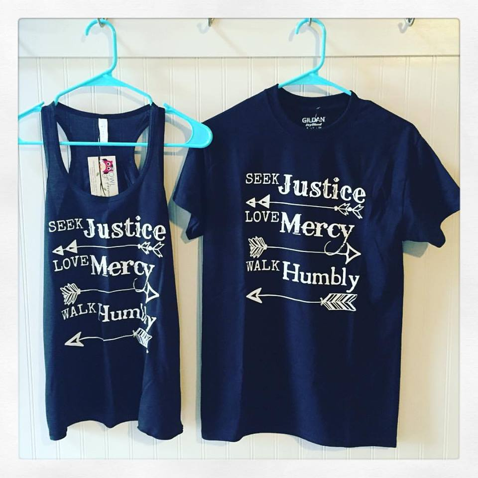 """Love Mercy"" T-Shirt Fundraiser..."