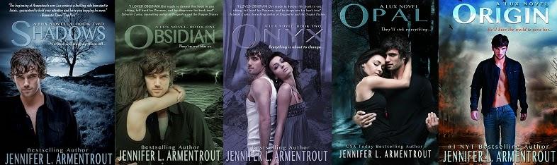Saga Lux by Jennifer L.Armentrout
