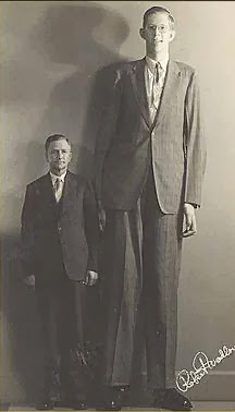 Robert wadlow - comapred to his father