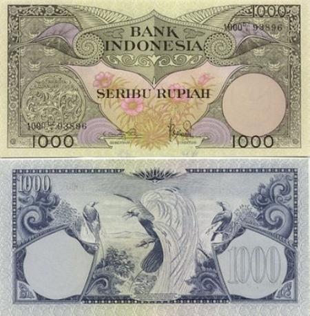 Uang Kertas 1.000 Rupiah 1959