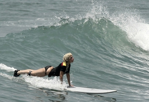 Lady GaGa  in Puerto Vallarta