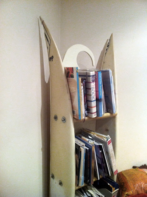 1000 surfboard graveyard diy surfboard shelf for Homemade rack case