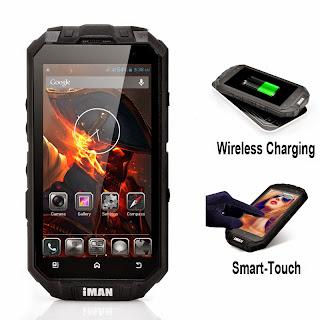 iMAN i3 Wireless Charging Rugged Smartphone