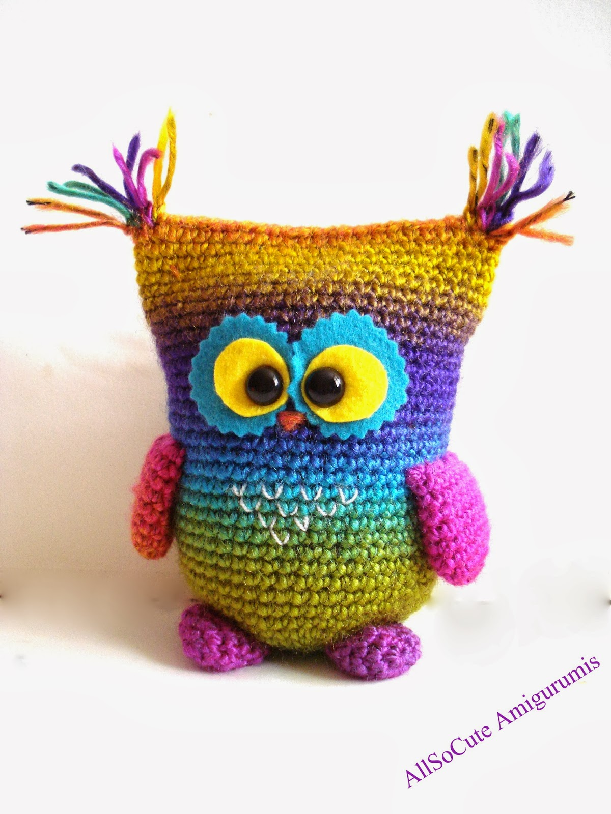 AllSoCute Amigurumis: Amigurumi Owl, Crochet Owl
