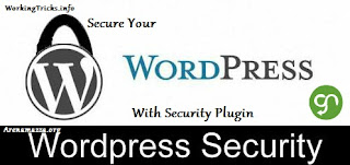 how to secure wordpress hosting blog from others