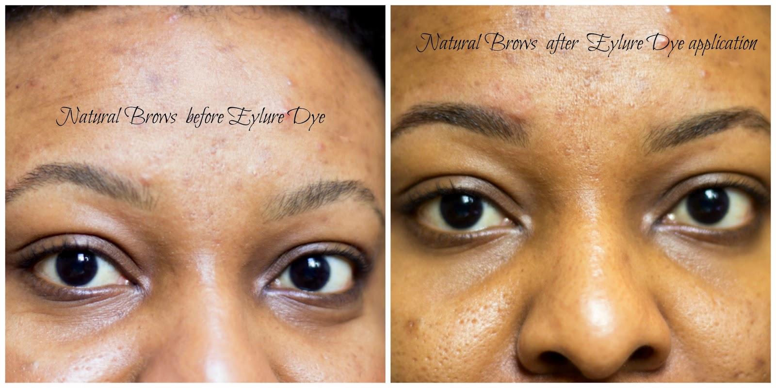 Fashstyleliv Eylure Dip Brow Review Diy Tinting My Eyebrows