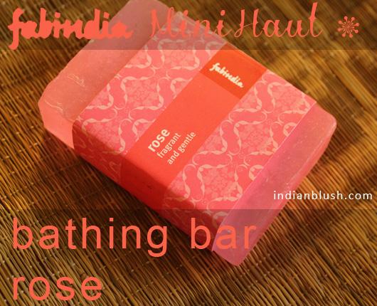 Fabindia Rose Soap