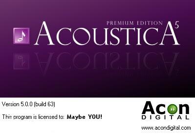 Acoustica 5 Premium Giveaway