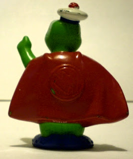 Back of Tuck Turtle figurine from Wonder Pets
