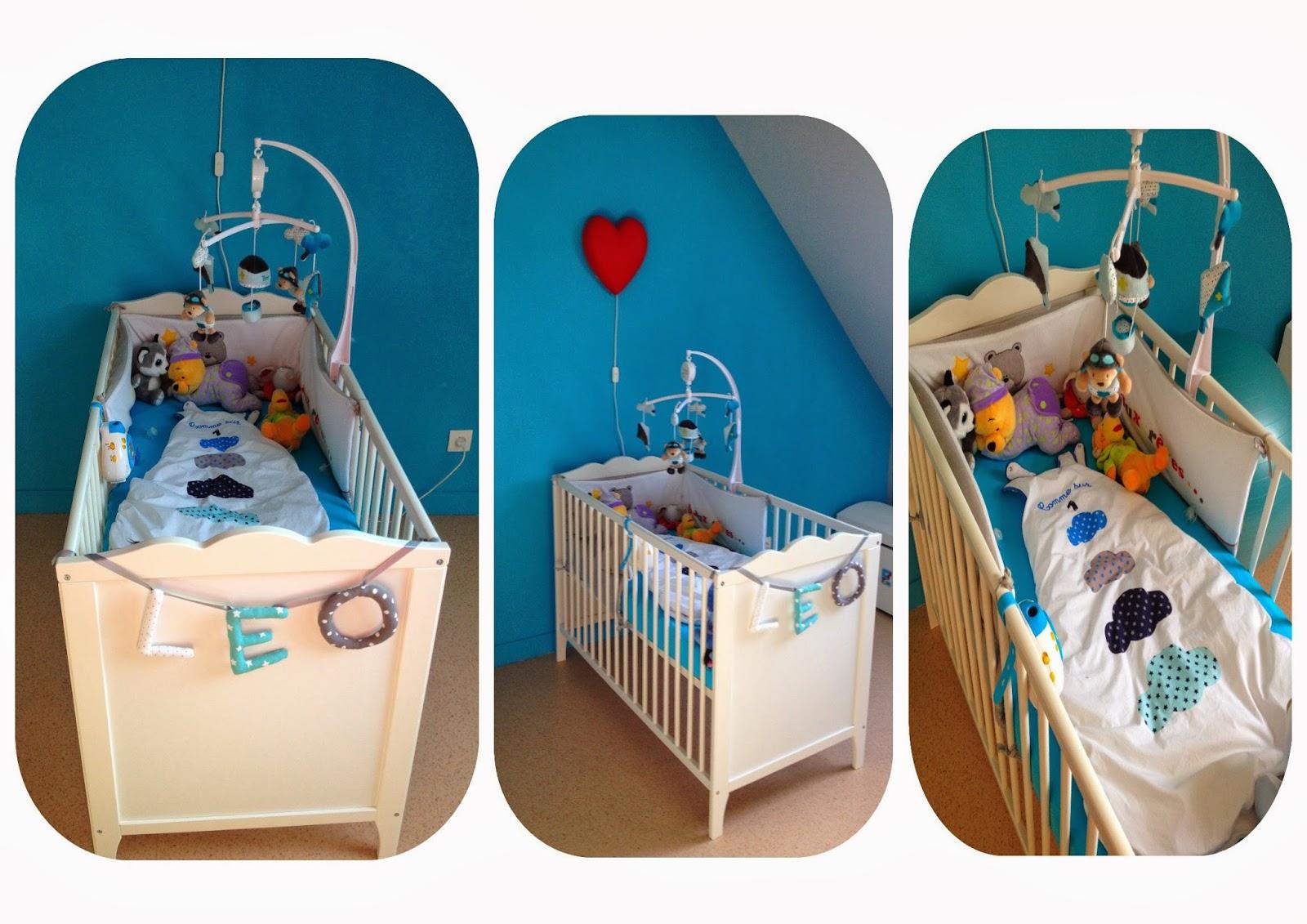les premiers pas d 39 une jeune maman la chambre de l o. Black Bedroom Furniture Sets. Home Design Ideas
