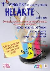 BASES 4º concurso de dibujo y pintura HelArte
