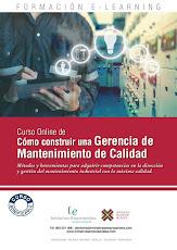 """Optimiza la Gestión con el curso """"CÓMO CONSTRUIR UNA GERENCIA DE MANTENIMIENTO DE CALIDAD"""
