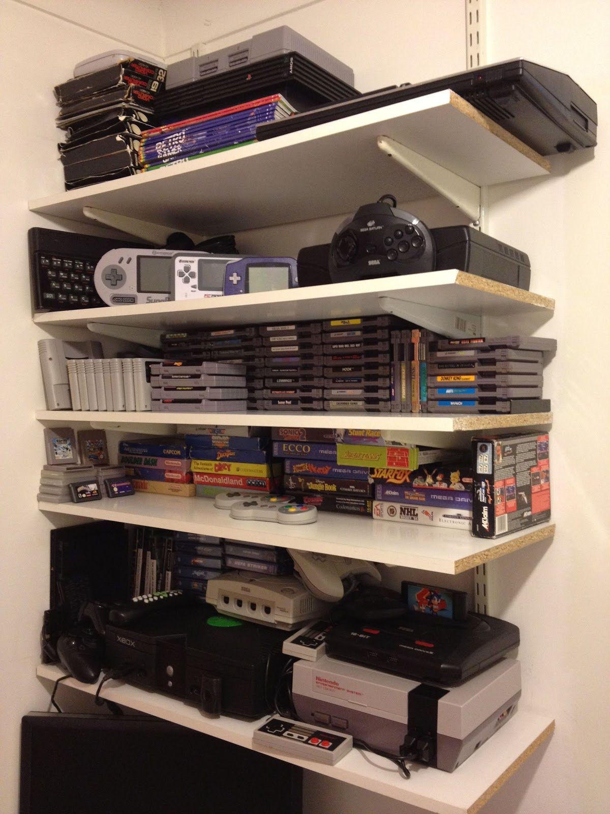 Gaming collections quot operation reclaim quot the anguish of a retro games