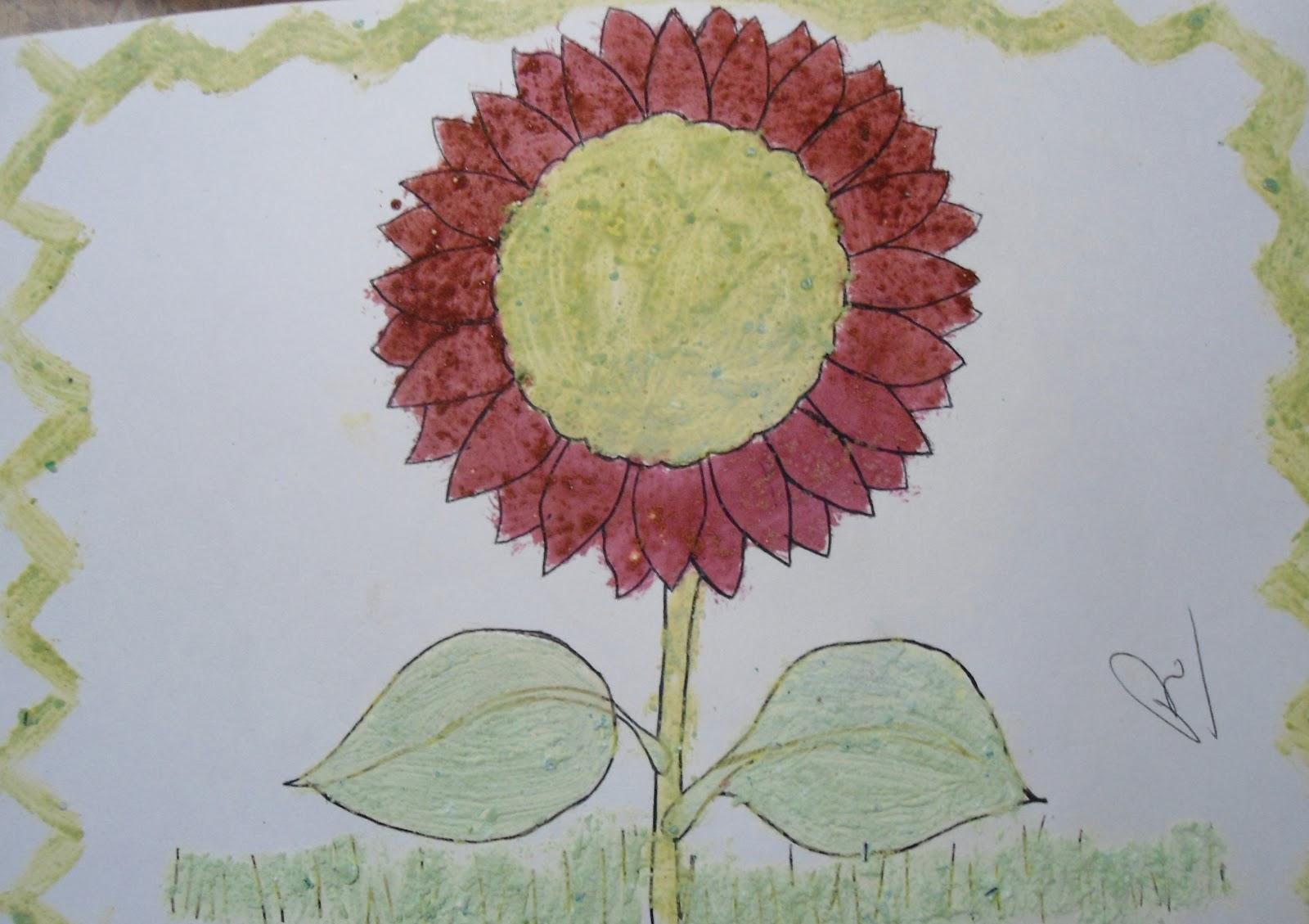 Tecnica preescolar tecnica para colorear - Como decorar un dibujo ...