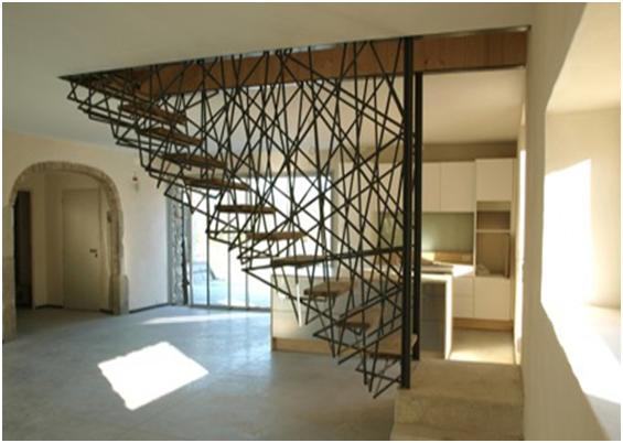 Unique stair design free design news for Unique staircase ideas