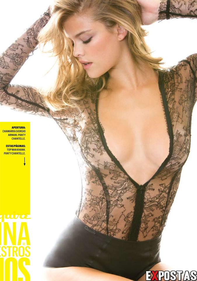 Nina Agdal: Topless na 'Esquire' Magazine - Maio de 2013
