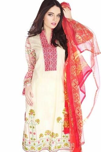 Gohar Textile Summer Collection 2014 By Armeena Kahn