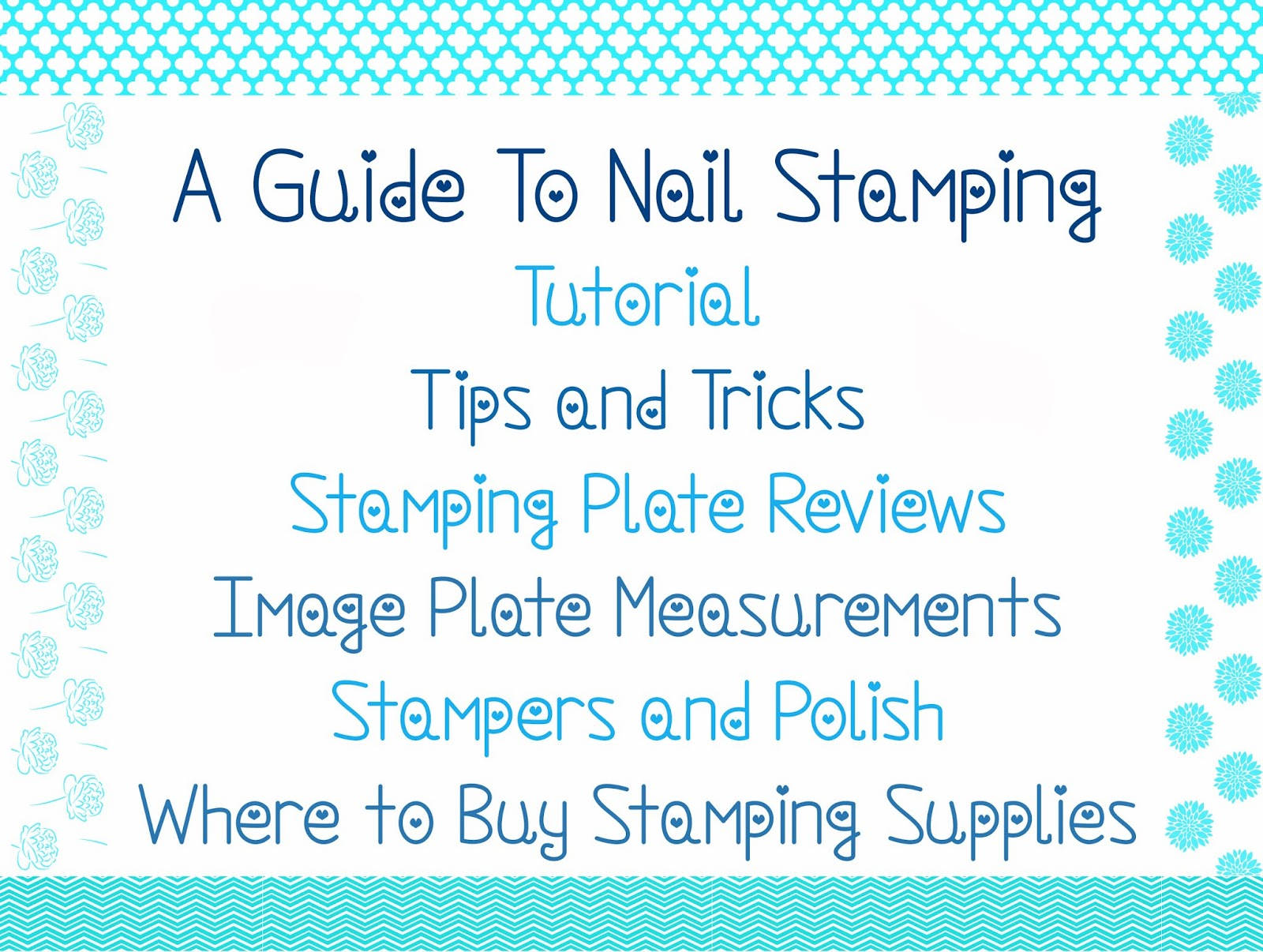 Indian Ocean Polish: Everything I Know About Nail Stamping ...