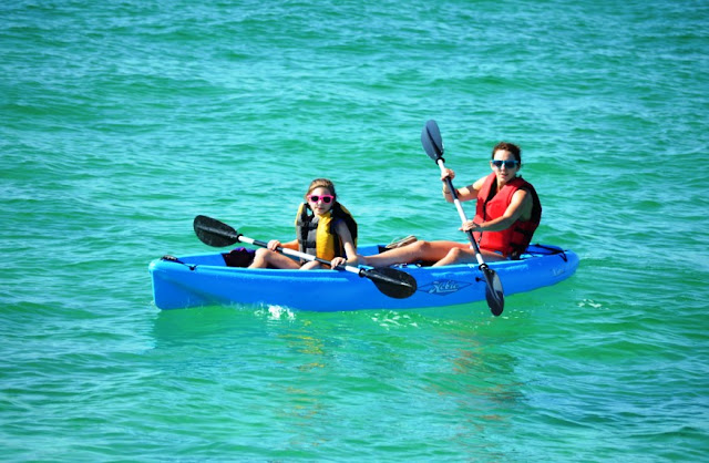 Kayaking on the Gulf Coast