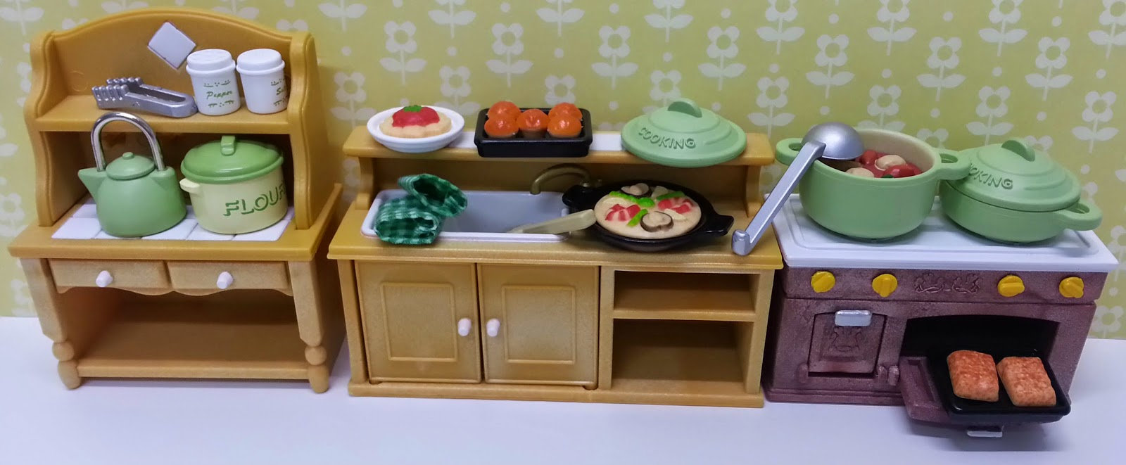 Jane Chérie: Sylvanian Families Kitchen Cooking Set