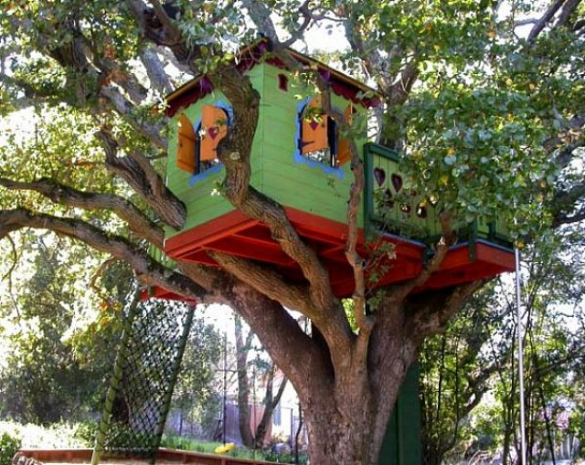 Never Listless Tree Houses Are The Coolest