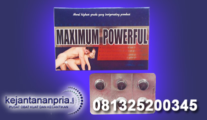 Obat Kuat Maximum Powerfull USA