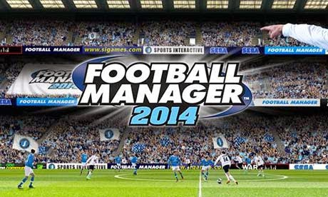 FOOTBALL MANAGER 2014 game