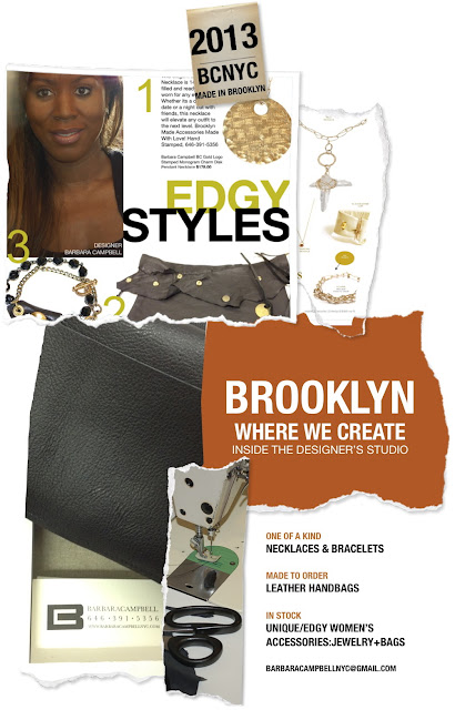 Brooklyn Where We Create Inside The Designer's Studio - Made In Brooklyn Handmade Products!