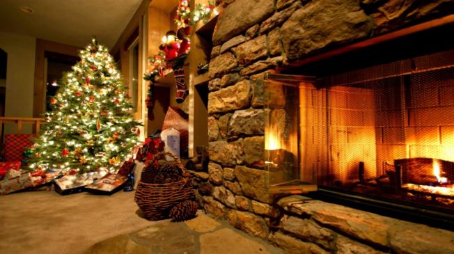 क्रिसमस डे और चिमनी का महत्व