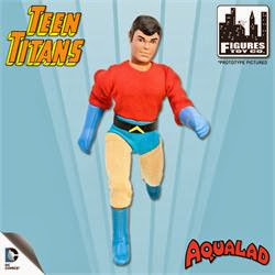 Figures Toy Company Retro/Mego Style Teen Titans - Aqualad