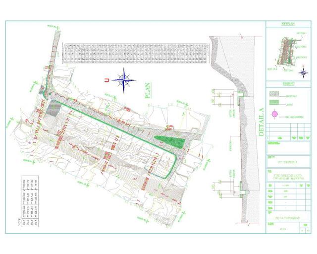Situasi Contour dan Site Plan Survey Pengukuran Topografi 6