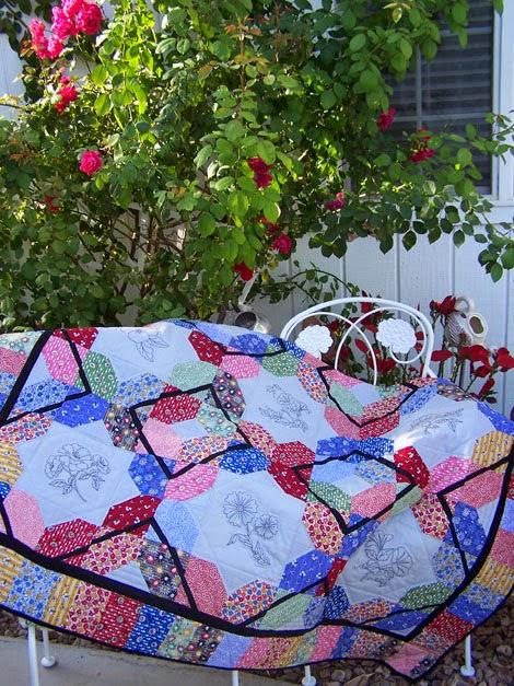 Treasures N Textures Miss Mattie S Flower Garden