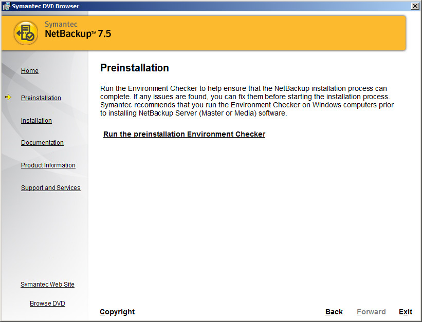 Netbackup 7.5 Java Console
