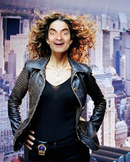 Lady Mr. bean Images