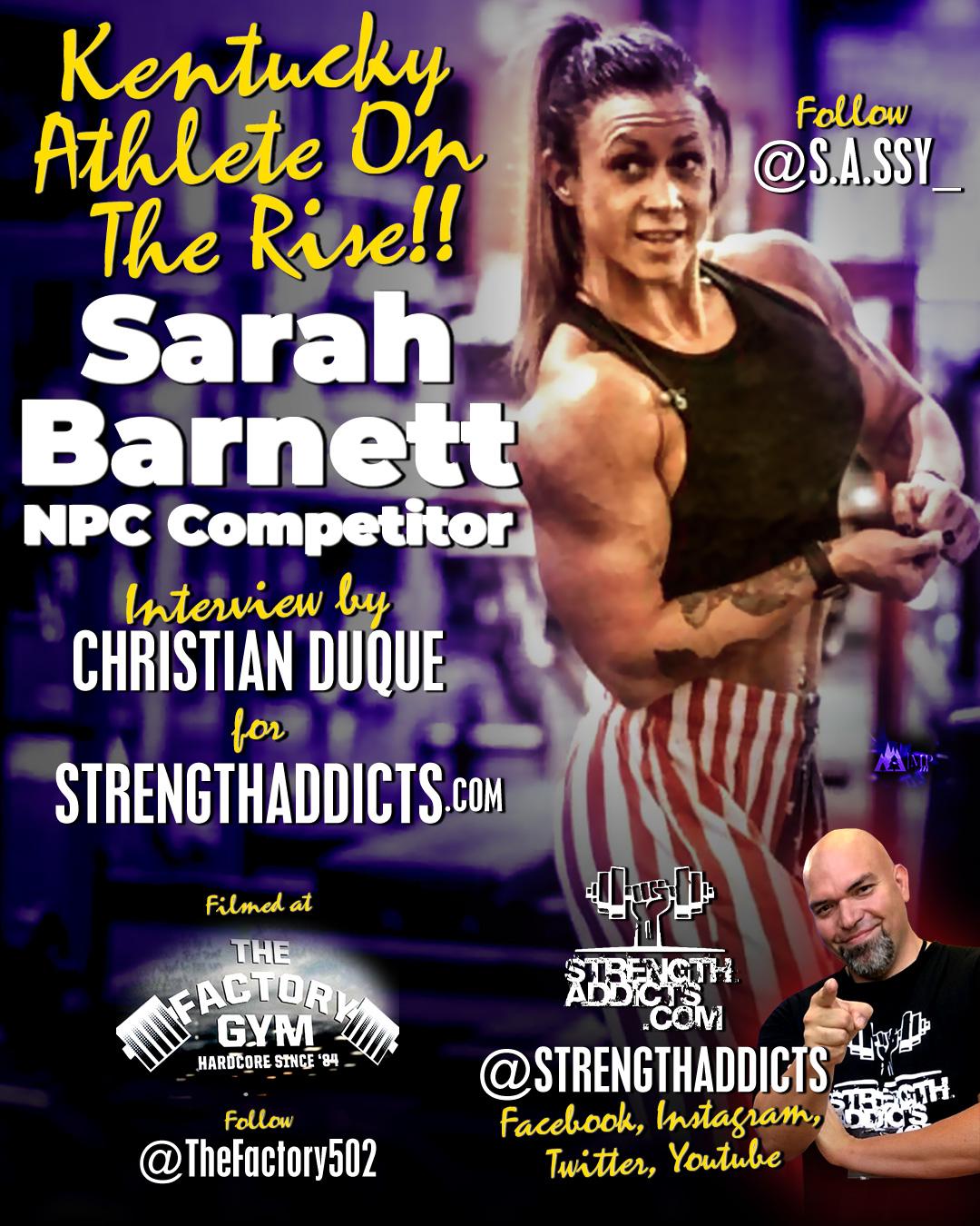 Sarah Barnett - 2x WPD Champion