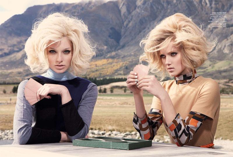 Melissa Johannsen & Emilia Skuza - Vogue Australia